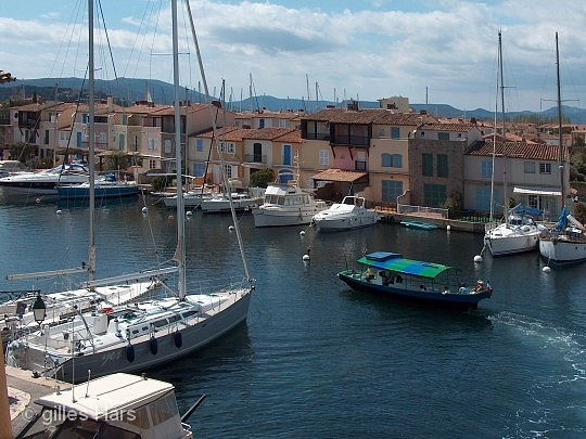 Canal occidental, Port-Grimaud.