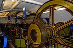 La machinerie du Tower Bridge de Londres.
