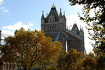 Le Tower Bridge vu de la Tour de Londres.
