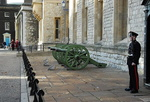 Façade de la caserne Waterloo, Tour de Londres.