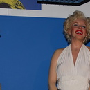 Inaccessible Marilyn, musée Madame Tussauds, Londres.
