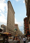 Le Flatiron Building, 5ème avenue, Manhattan.
