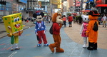Mickey et compagnie, Times square, Manhattan.
