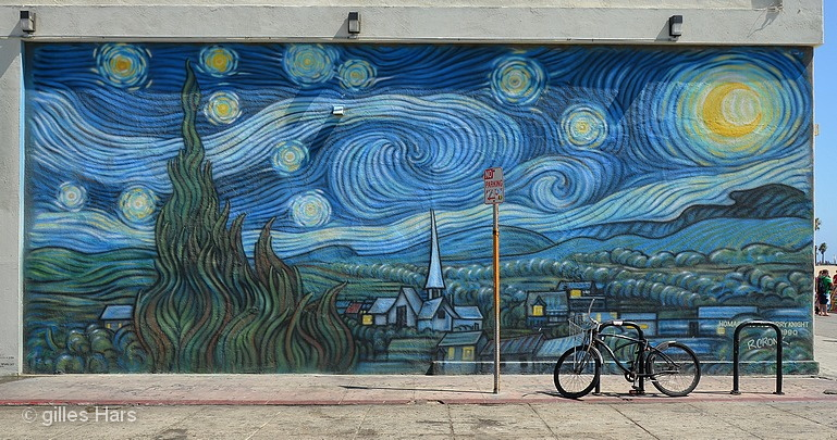 Fresque murale, Venice, Los Angeles.